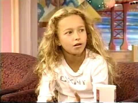 Hayden Panettiere interview 2000. Age 11 - YouTube