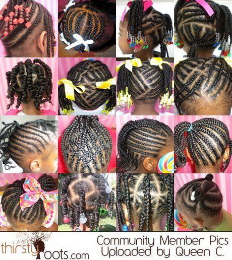 Superb 1000 Ideas About Kids Braided Hairstyles On Pinterest Kid Hairstyles For Women Draintrainus