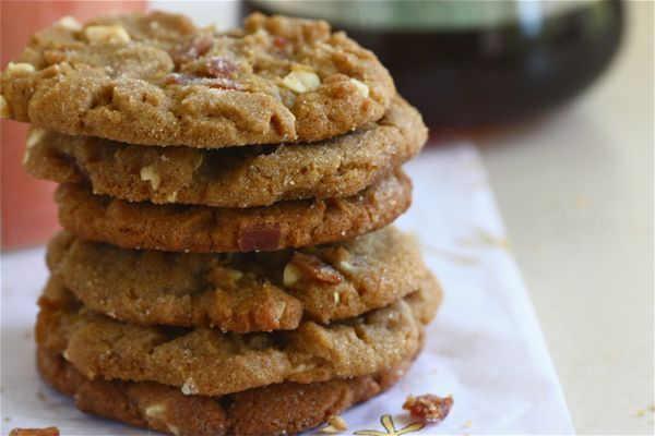 peanut butter bacon cookies.... from Joy the Baker's cookbook ...