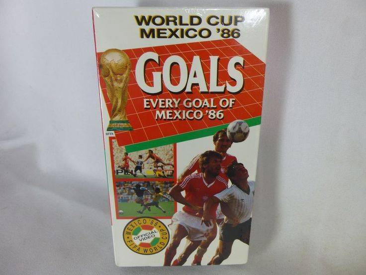 Every World Cup Goal Mexico 1986 ~ RARE Fifa VHS Movie Video ~ Soccer Football