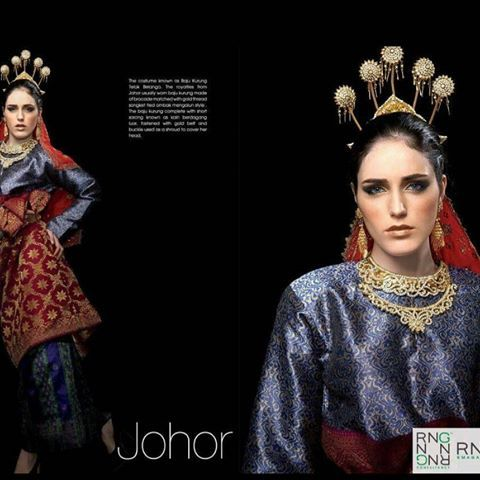 Image result for BAJU TRADISIONAL JOHOR