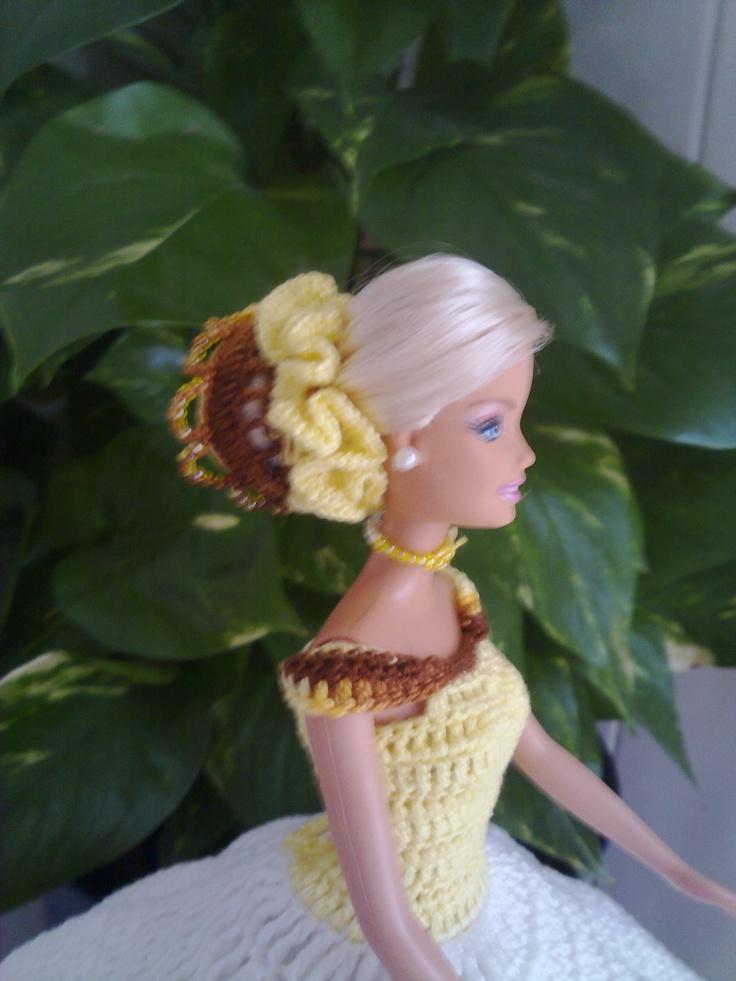un vestido para barbie