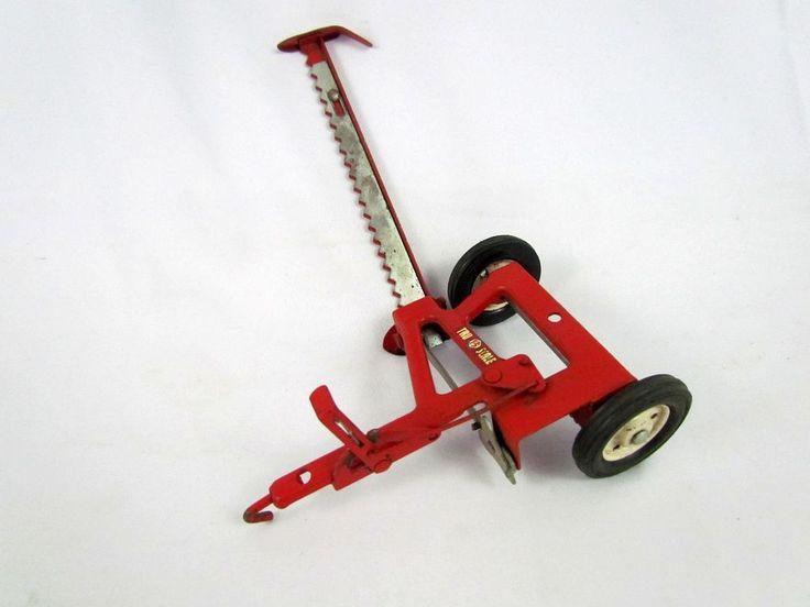 Vintage 1950 60 S Tru Scale Eska 1 16 Metal Farm Implement