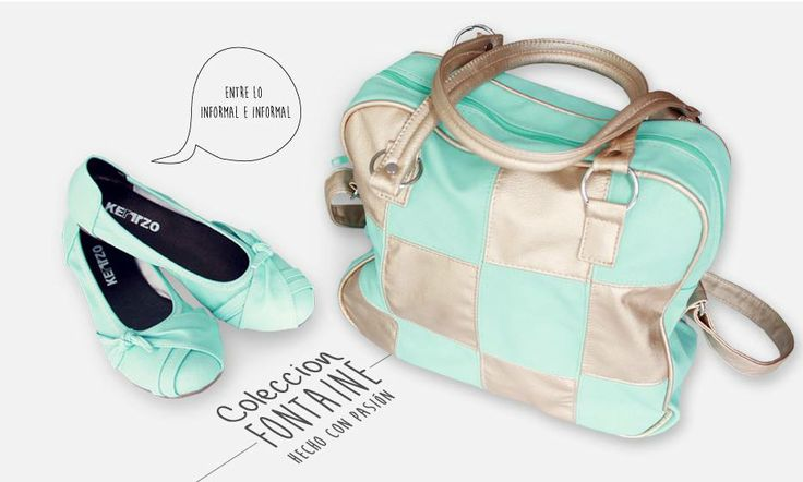 fotografía de la colección Fontaine. promoción redes sociales. calzadotriunfo.com