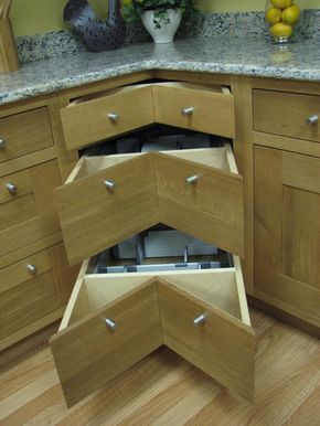 With Needco Designing Your Kitchen Cabinet Corner Options