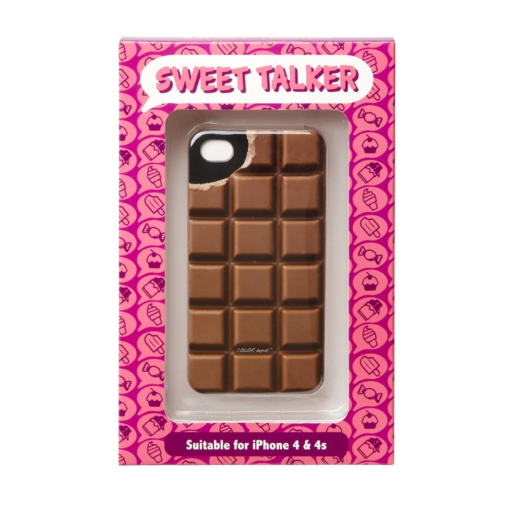 Chocolate Phone Cover, $14.95 #sportsgirl