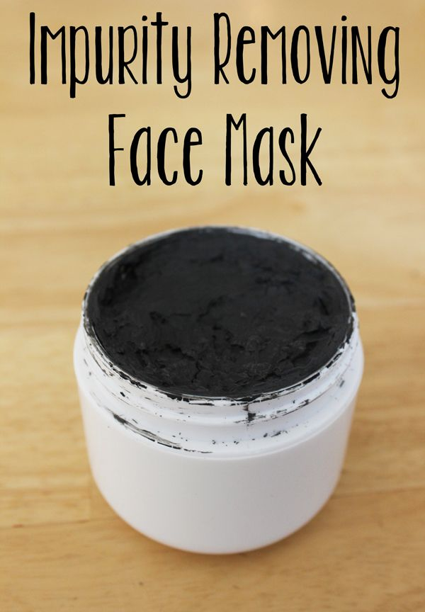 Impurity removing Charcoal face mask