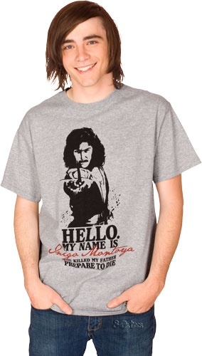 Want! Princess Bride shirt is always in style