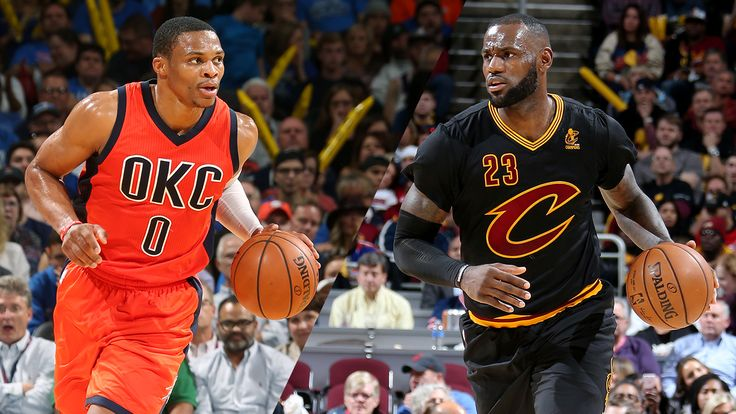 Russell Westbrook and LeBron James take triple-doubles to new heights
