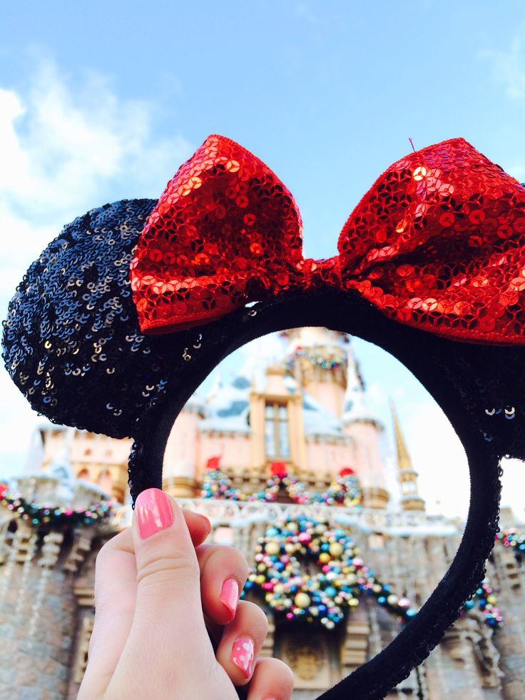 sequin Disney ears!!