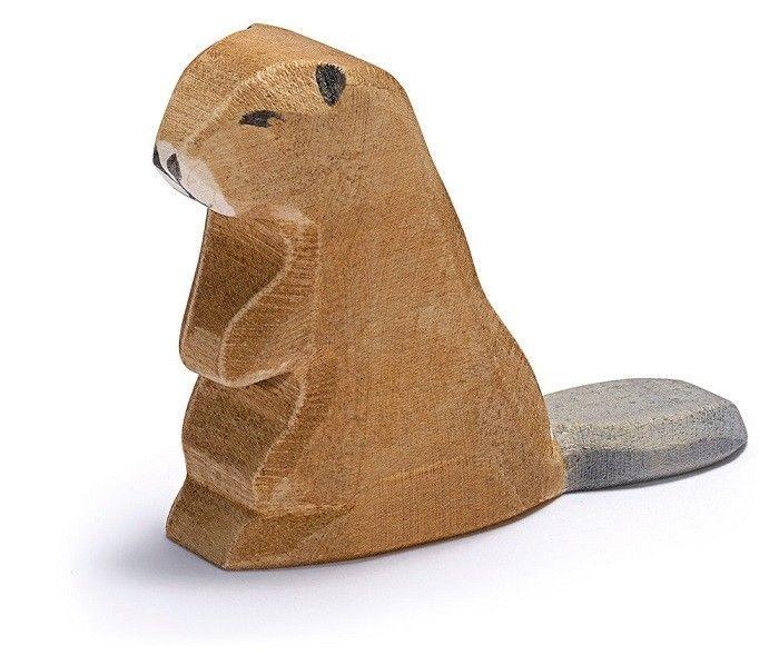Ostheimer - Wooden Sitting Beaver