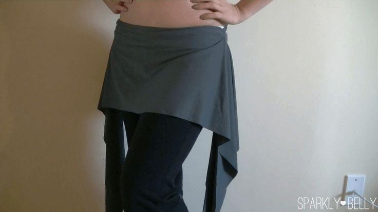 DIY hip skirt complete