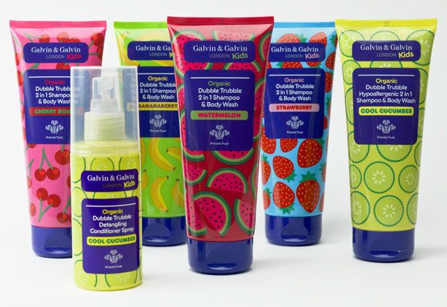 Great new line of all-natural hair and bath products for kids. No icky stuff.