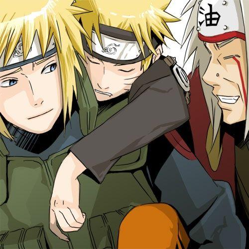 Minato Namikaze And Naruto   Minato-Naruto-Jiraiya-minato-namikaze-31264951-500-500.jpg