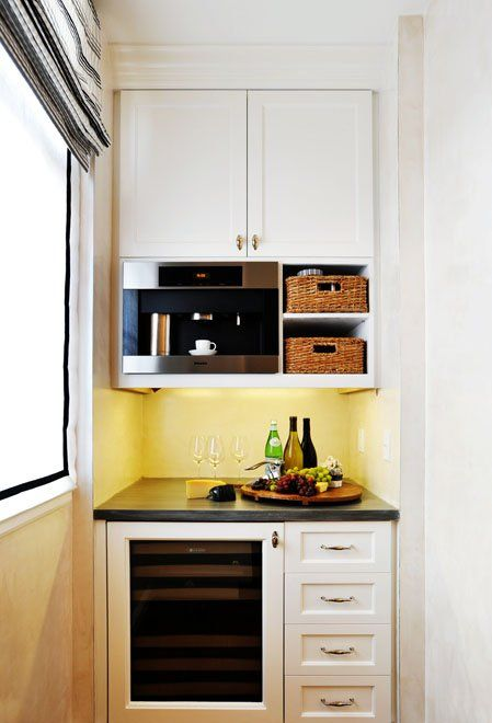 One of the best small kitchen designs ideas involves windows. Description from…