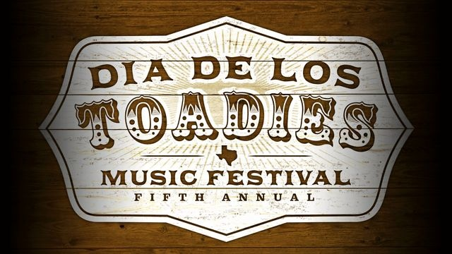 5th Annual Dia De Los Toadies : Aug 31 - Sept 1, 2012 : Whitewater Amphitheater : New Braunfels, TX by Kirtland Records. http://www.diadelostoadies.com