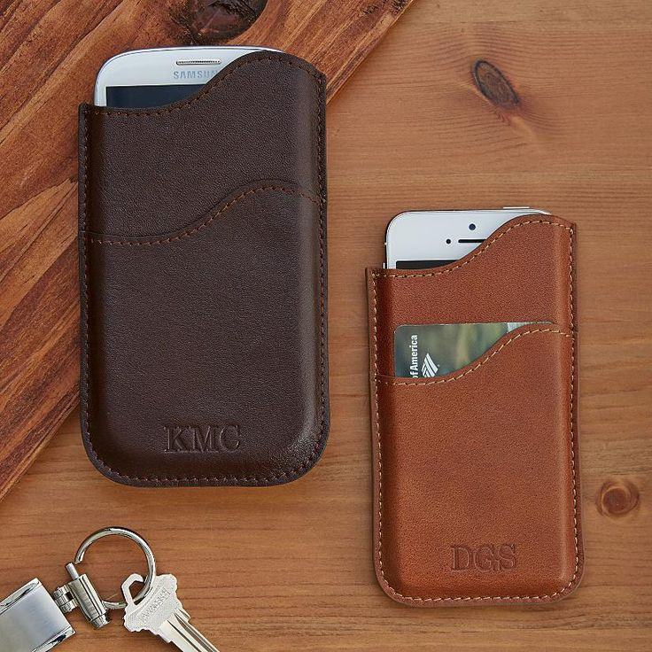 Leather Cell Phone Case | Personal Creations - $24.99
