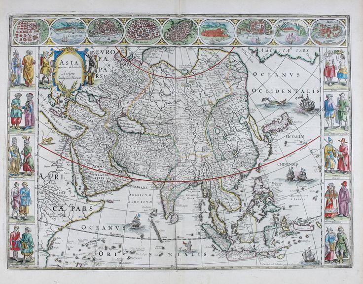 Azsia Le theatre du monde, ou, Nouuel atlas 1650