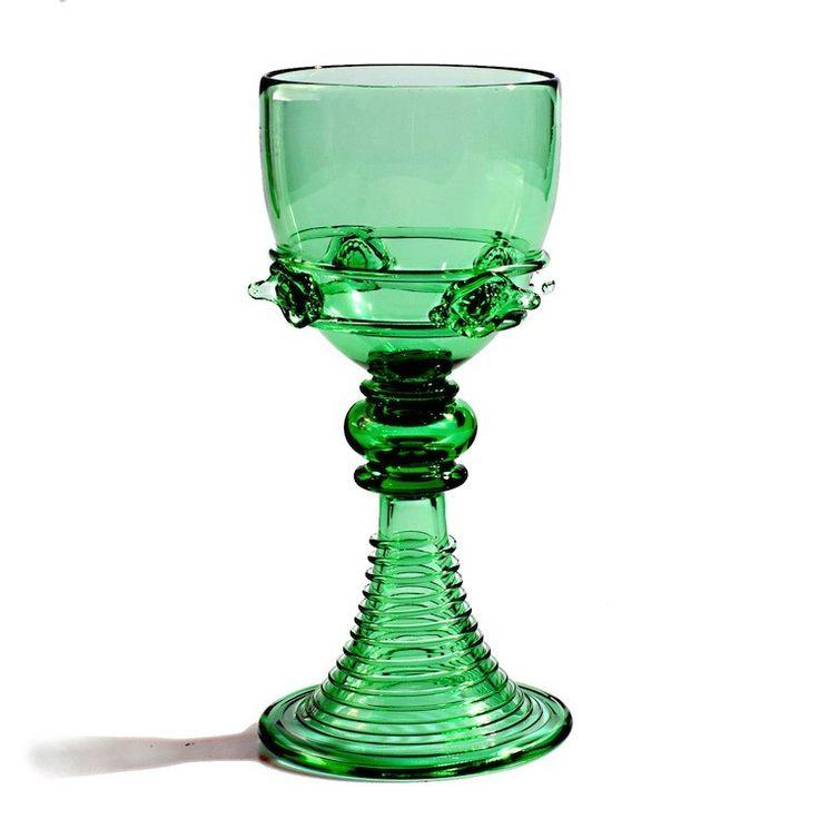 LAMORAK green medieval goblet - GAME OF THRONES