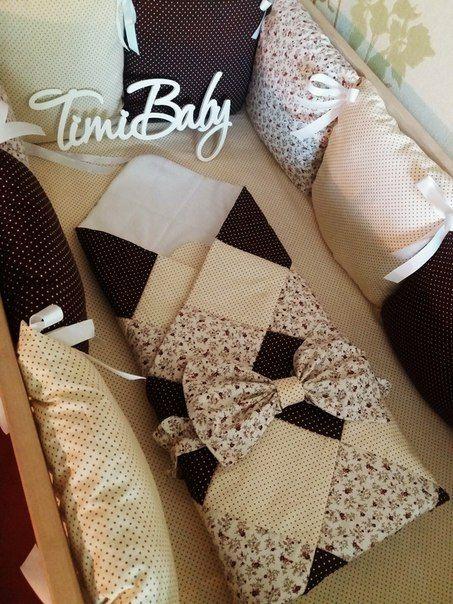 Baby blanket Детское одеяло Лоскутное одеяло Коричневое одеяло Бежевое одеяло Защита в кроватку Бортики в кроватку Детское постельное белье
