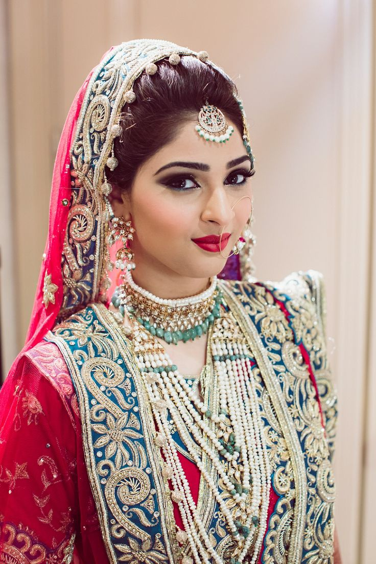 Hyderabadi bride! khada dupattas and hyderabadi brides ...