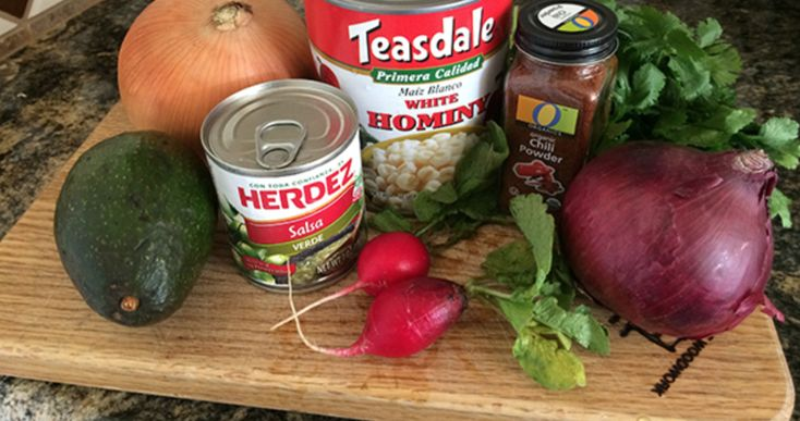Kevin Hearne's easier Posole recipe (Pope of the Holy Taco Church & writer of the Iron Druid Chronicles.  :D)