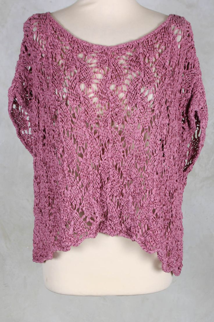 Cropped Crochet Top in Stolz - Privatsachen
