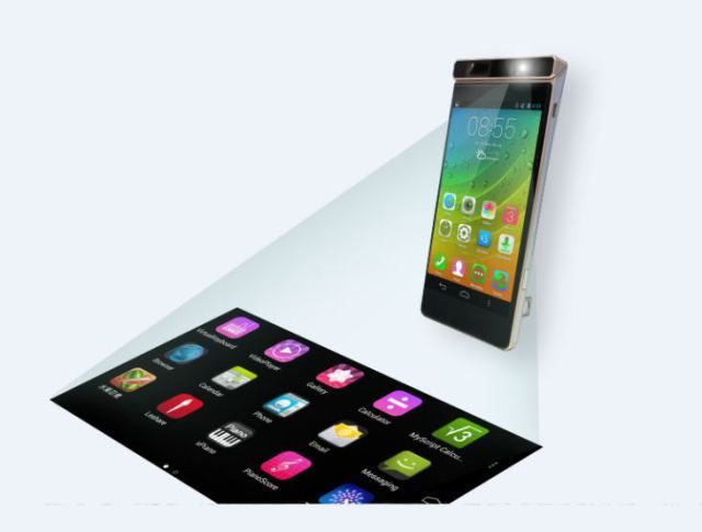 Cool Lenovo smartphone actually projects your touchscreen anywhere – Quartz
