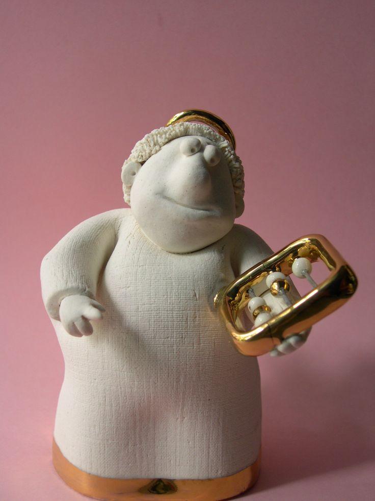 #angel #porcelain