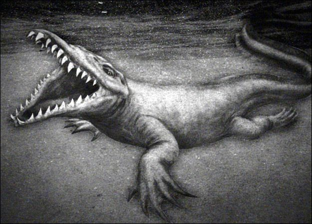 Since its first reported sighting in 1868, the Bear Lake Monster has been a source of pride for locals in a small Idaho town. A Mormon colonizer, Joseph C. Rich, published a series of articles in the Desert Evening News claiming locals had seen a monster on the lake. Witnesses gave differing descriptions of the monster; some compared it to a walrus, while others described it as a large reptile or crocodilelike creature.