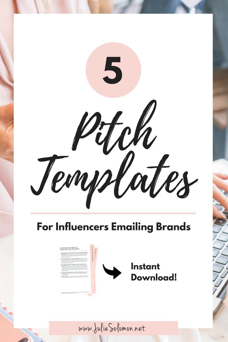Tired of sending out pitch related emails and coming back to an empty inbox? Or, are you over getting pitched by a brand and confused on how to best respond? Perhaps you want to pitch a brand, but are afraid you don't know what to say?  Instead of getting frustrated, try these handy email templates, designed to help you curate smart, action based reply-worthy communication. Julie Solomon.