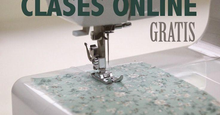 DIY, patrones, ropa de bebe y mucho más para coser.: Clases de costura online gratis :D