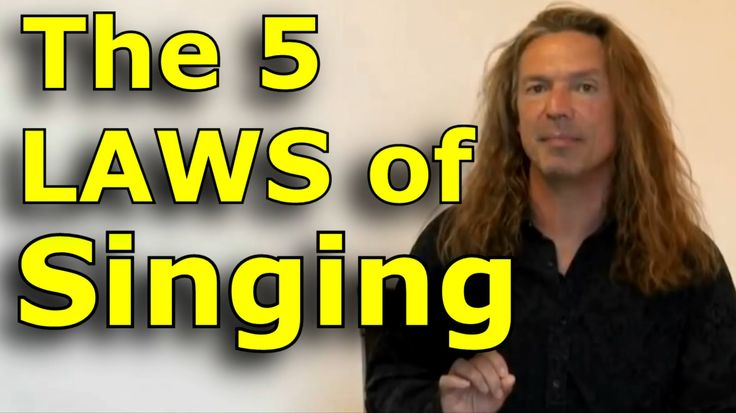 Singing Lessons For Beginners - The 5 Laws Of Singing - Learn Singing wi...