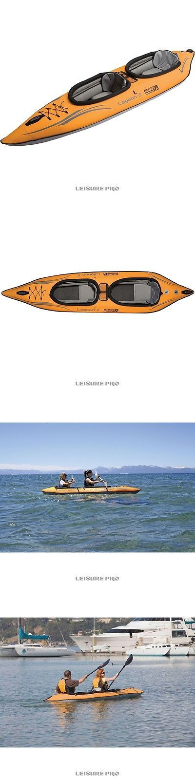 Inflatables 87090: Advanced Elements Lagoon 2 Person Kayak, Orange Gray -> BUY IT NOW ONLY: $499 on eBay!