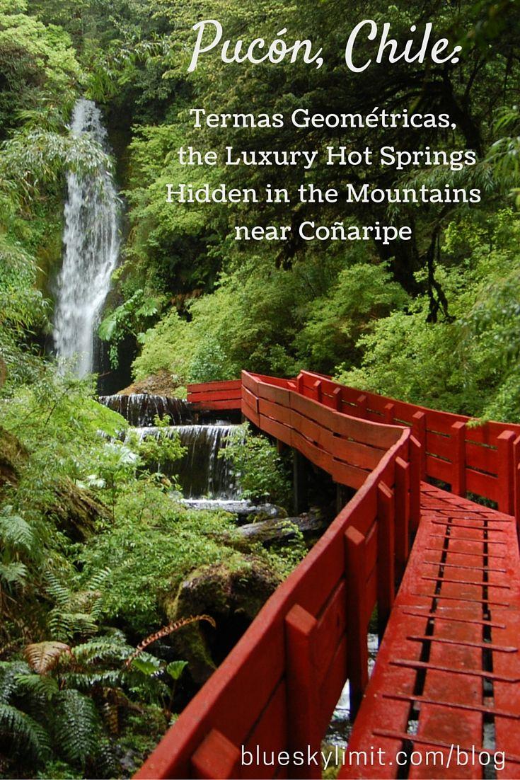 Pucón, Chile - Termas Geométricas, the Luxury Hot Springs Hidden in the Mountains near Coñaripe