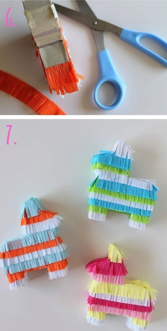 Let's be honest. Who wants to share pinatas? Give everyone their own with mini pinatas!