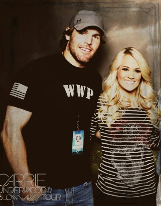 Carrie Underwood w/ Husband Mike Fisher