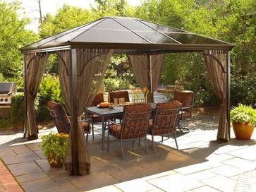 11 best gazebos with netting images on pinterest | patio ideas ... - Gazebo Patio Ideas