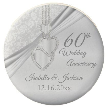 60th Diamond Wedding Anniversary Chocolate Dipped Oreo - anniversary gifts ideas diy celebration cyo unique