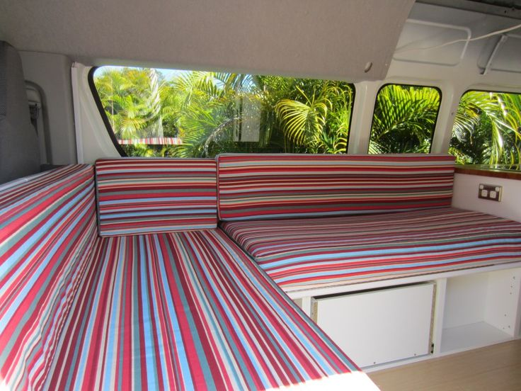 Woohoo! Finally found a link with instructions for sewing covers for camper cushions