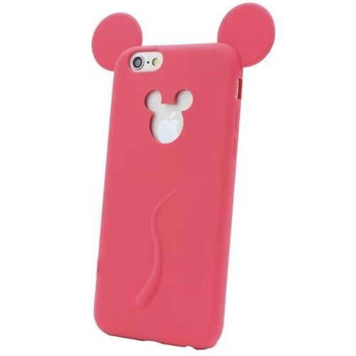 3D Soft Mickey Mouse Ear Phone Case