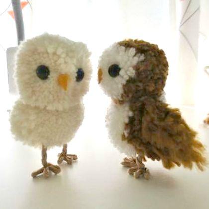 pom pom owls                                                                                                                                                                                 More