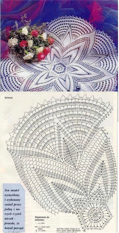 Kira scheme crochet: Scheme crochet no. 1797