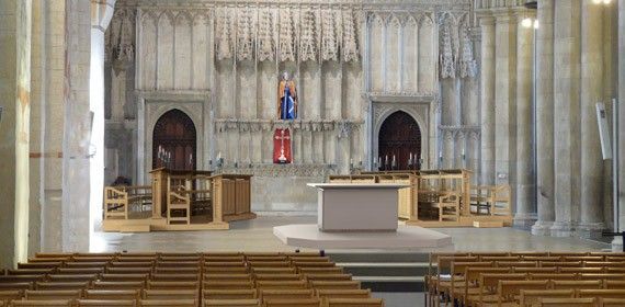 St Albans Cathedral choir furniture | Rood Screen/Pulpitum ...