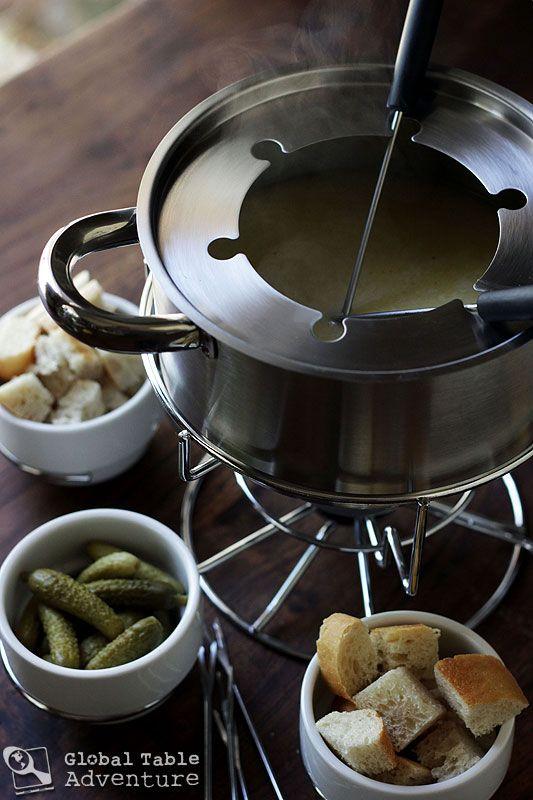 A recipe for Swiss Fondue