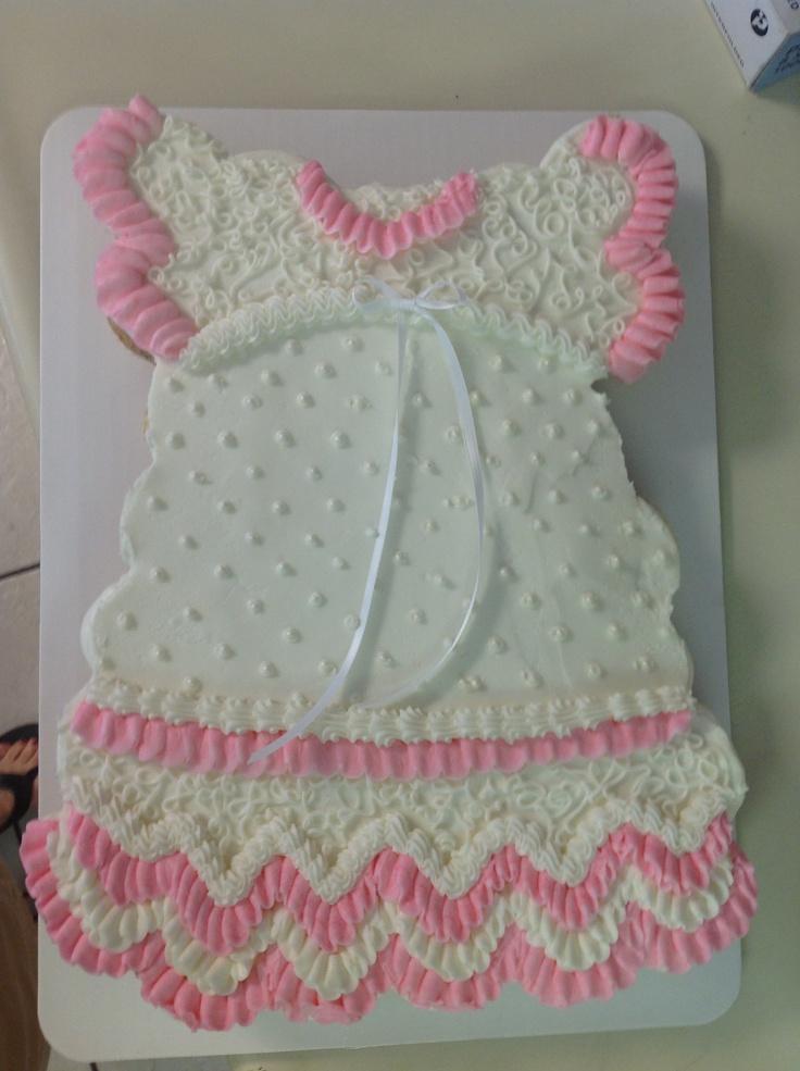 Cupcake baby shower cake!