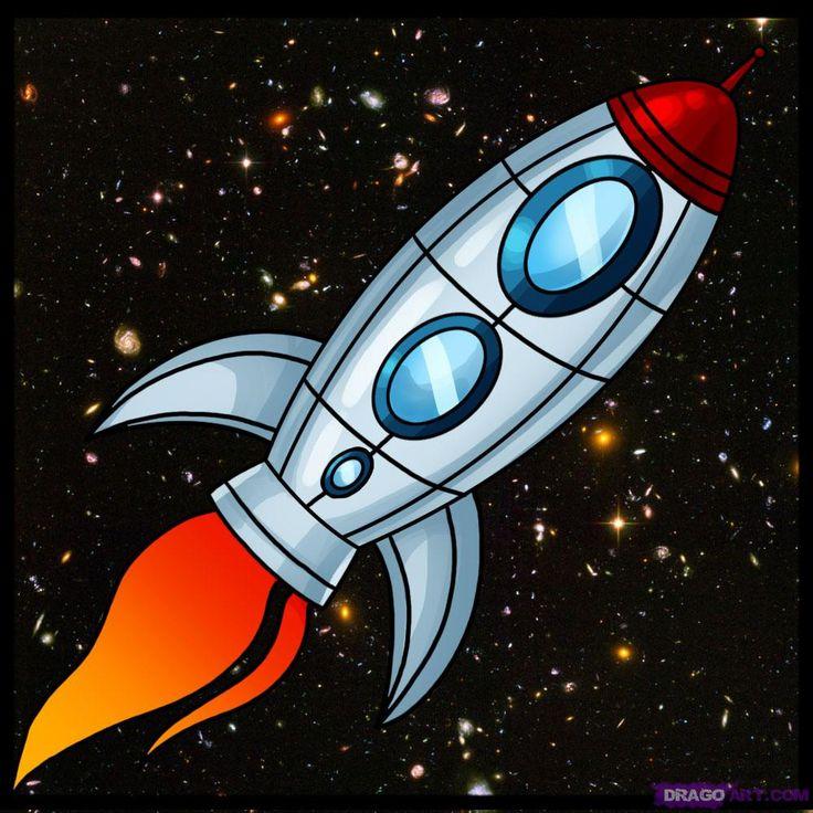 Космическая ракета картинка