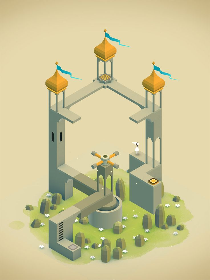 Image Monument Valley iPhone / iPod - 2