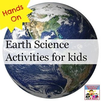 hands on earth science activities for kids