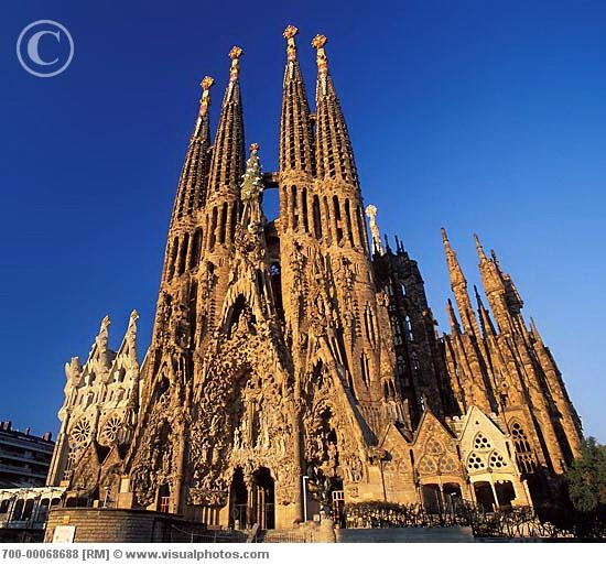 sagrada familia church  barcelona  spain most beautiful and incredible place  would love to go